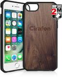 Cirafon Hybrid Fusion Drop Safe iPhone 6/6s; iPhone 7; iPhone 8; iPhone SE (2020) Mørkt tre
