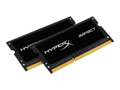 Kingston HyperX Impact Black Series 16GB 1,866MHz DDR3L SDRAM SO DIMM 204-pin