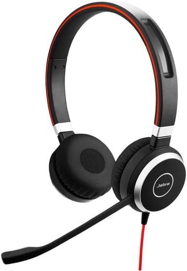 Jabra Evolve 40 Stereo Headset Only Sort