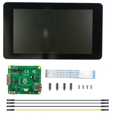 "Raspberry Pi 7"" Touchscreen Display null"