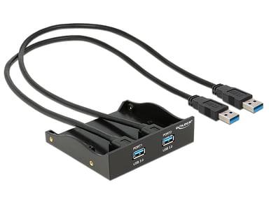 Delock USB 3.0 Front Panel 2-Port