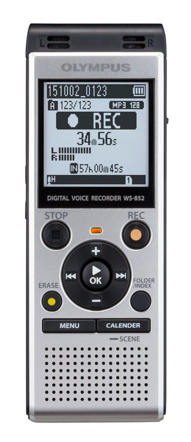 Olympus Diktafon WS-852 Sølv (4 GB)