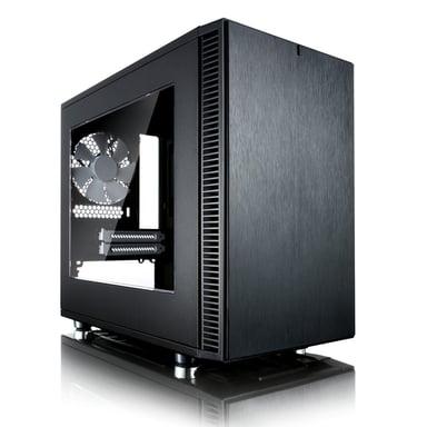 Fractal Design Define Nano S Black Window Svart