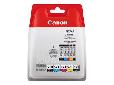 Canon Blekk Multipack PGI-570/CLI-571 (PGBK/C/M/Y/BK)