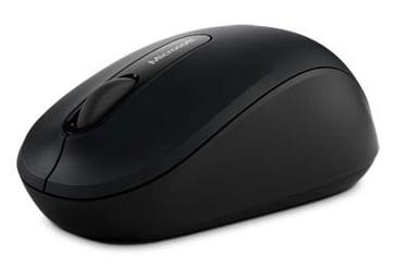 Microsoft Bluetooth Mobile Mouse 3600 1,000dpi Muis Draadloos Zwart