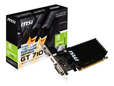 MSI GeForce GT 710 LP Passive 1GB null