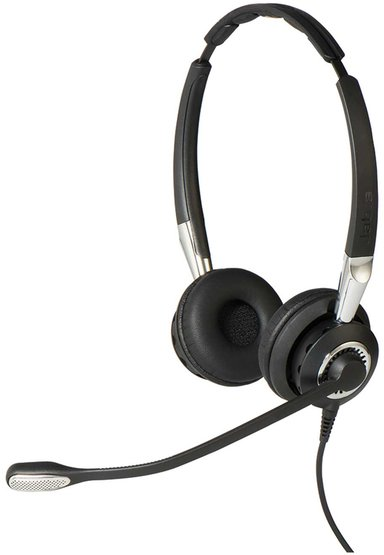 Jabra BIZ 2400 II Duo USB MS Sort