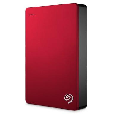 Seagate Backup Plus 4TB 4TB Rød