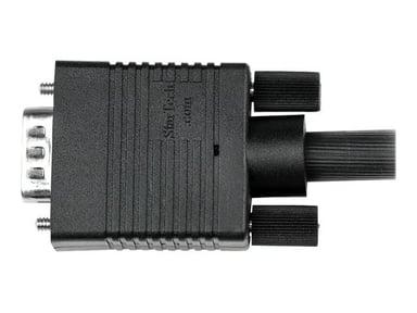 Startech 0.5m Coax High Resolution Monitor VGA Video Cable HD15 M/M 0.5m VGA Male VGA Male