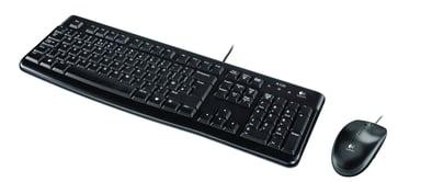 Logitech Desktop MK120 Nordiska länderna