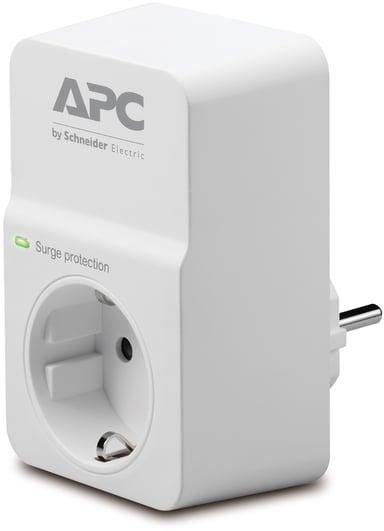 APC SurgeArrest Essential 16A Ekstern 1pieces CEE 7/7 strøm Hvit Hvit