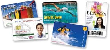 Zebra PVC-kort med signaturpanel 500st