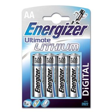 Energizer Batteri Ultimate Lithium AA/LR6 4-Pack null