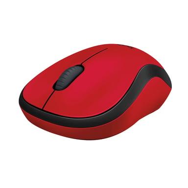 Logitech M220 Silent Wireless 1,000dpi Mus Trådlös Röd Svart