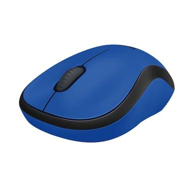 Logitech M220 Silent Wireless 1,000dpi Mus Trådlös Blå Svart