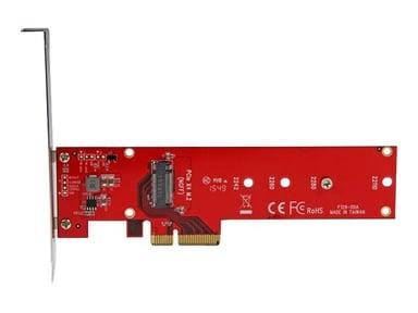 Startech x4 PCI Express - M.2 PCIe SSD Adapterikortti