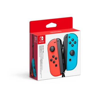 Nintendo Joy-Con Pair - Neon Red & Blue Blauw Rood