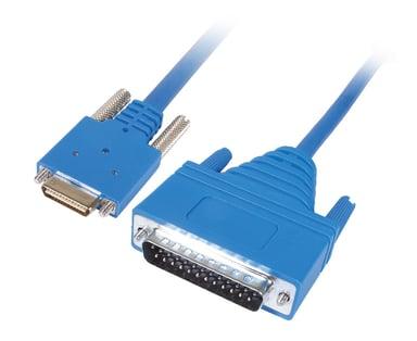 Cisco sarjaliitettävä RS-232 kaapeli