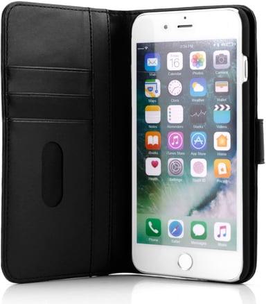 Cirafon Genuine Leather Wallet iPhone 7 Plus Sort