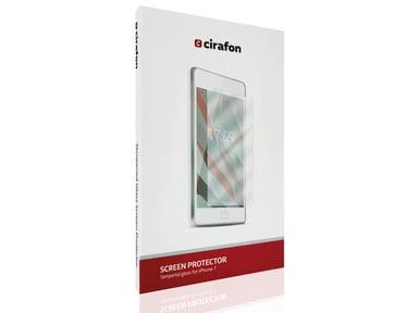 Cirafon 3D Curved Gorilla Glass 0.3mm, valkoinen iPhone 7