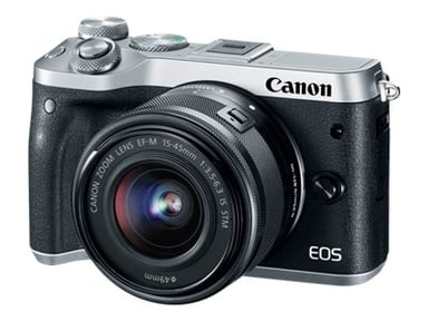 Canon EOS M6 + EF-M 15-45/3,5-6,3 IS STM