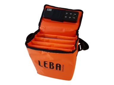 Leba Notebag With 5-Ports USB Charge Oranssi