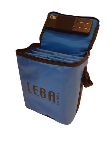 Leba Notebag With 5-Ports USB Charge sininen