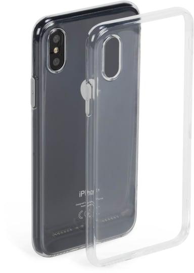 Krusell Bovik Cover baksidesskydd för mobiltelefon iPhone X iPhone Xs Transparent