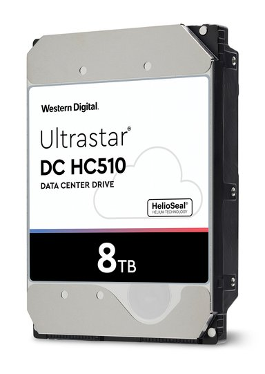 """WD Ultrastar DC HC510 512E ISE 8TB 3.5"""" Serial Attached SCSI 3"""