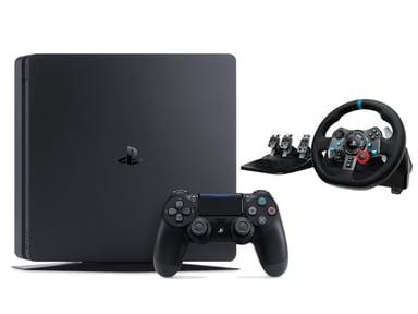 Sony Playstation 4 Slim + Logitech G29