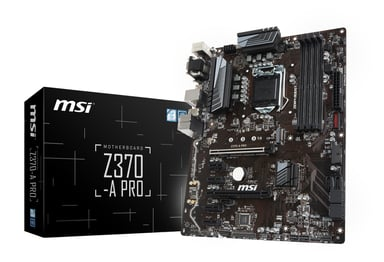 MSI Z370-A Pro ATX Emolevy