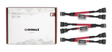 Noctua Na-Syc1 Chromax Y-Cable 4-Pin 11.5cm Red