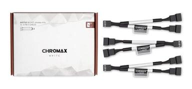 Noctua Na-Syc1 Chromax Y-Cable 4-Pin 11.5cm White