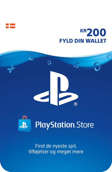 Sony Playstation Store Card - 200 DKK