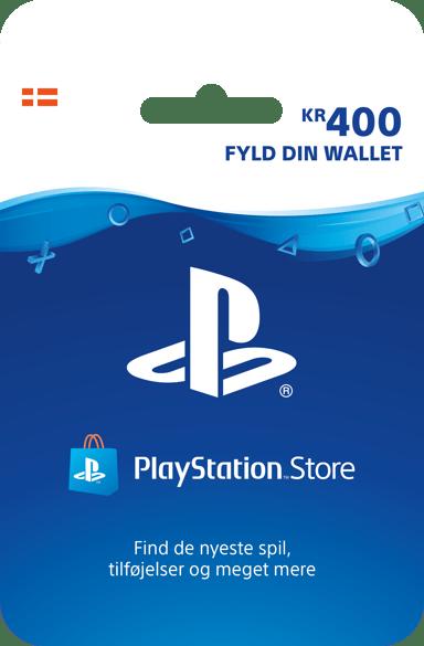 Sony Playstation Store Card - 400 DKK