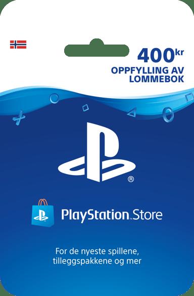 Sony Playstation Store Card - 400 NOK