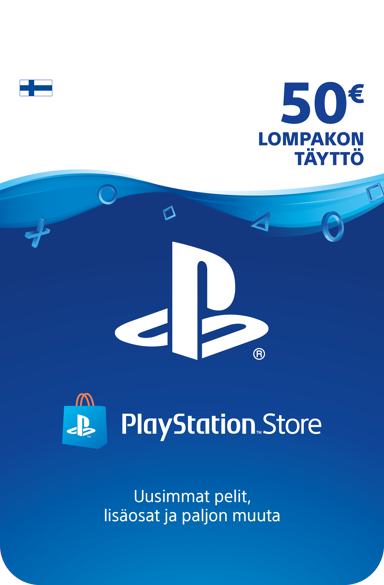 Sony Playstation Store Card - 50 EUR