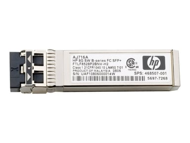 HPE SFP+ transceivermodul 10 Gb-fiberkanal (kortbølge)