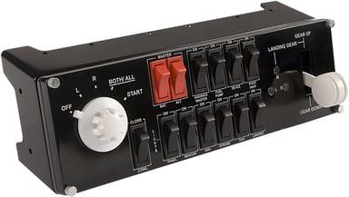 Logitech Flight Switch Panel Zwart