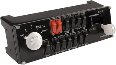 Logitech Pro Flight Switch Panel Svart