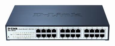 D-Link DGS-1100-24 24-Port Gigabit Smart Switch