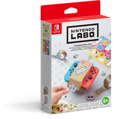 Nintendo LABO Customisation Set Blå; Brun; Gul; Rød; Sort