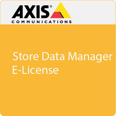 Axis Store Data Manager 1 Add-On E-License
