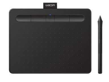 Wacom Intuos Pen Tablet Bluetooth Small Black