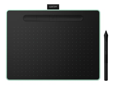 Wacom Intuos Pen Tablet Bluetooth Medium Black/Green