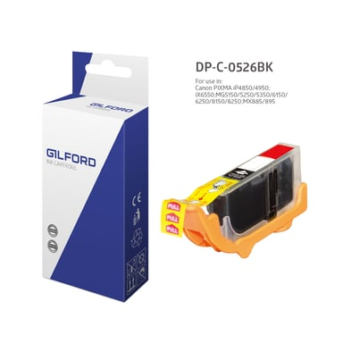 Gilford Blæk Sort Cli-526BK - Mg5150 - 4540B001