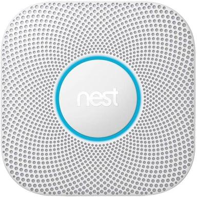Google Nest Protect 2Nd Gen Smoke & Co Sensor Wired No/DK Model