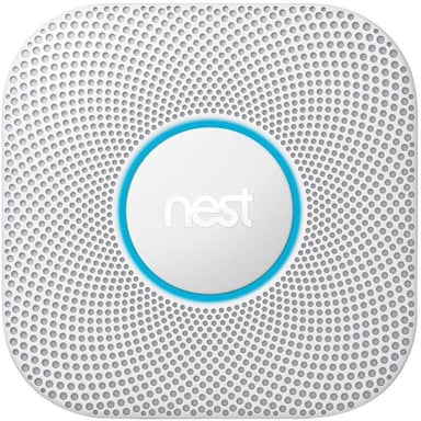 Google Nest Protect 2Nd Gen Smoke & Co Sensor Wireless No/DK-Model