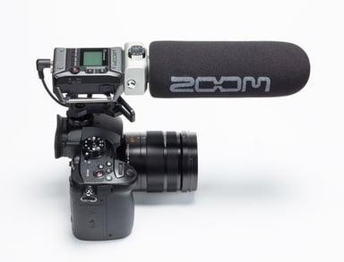 Zoom F1-SP Field Recorder Shotgun