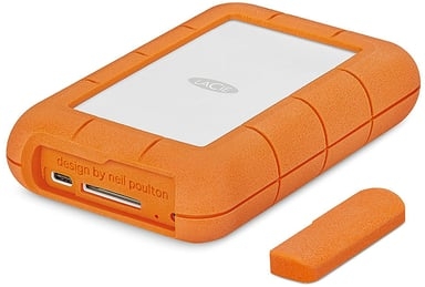 LaCie Rugged RAID Pro 2TB Oransje Sølv